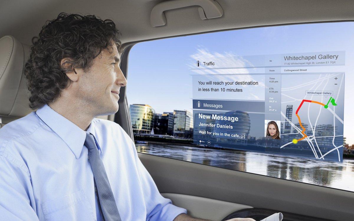 Im SmartVI-Projekt werden Anwendungen wie im Automotiven Interior Bereich angedacht (Foto / Rendering: Osram)