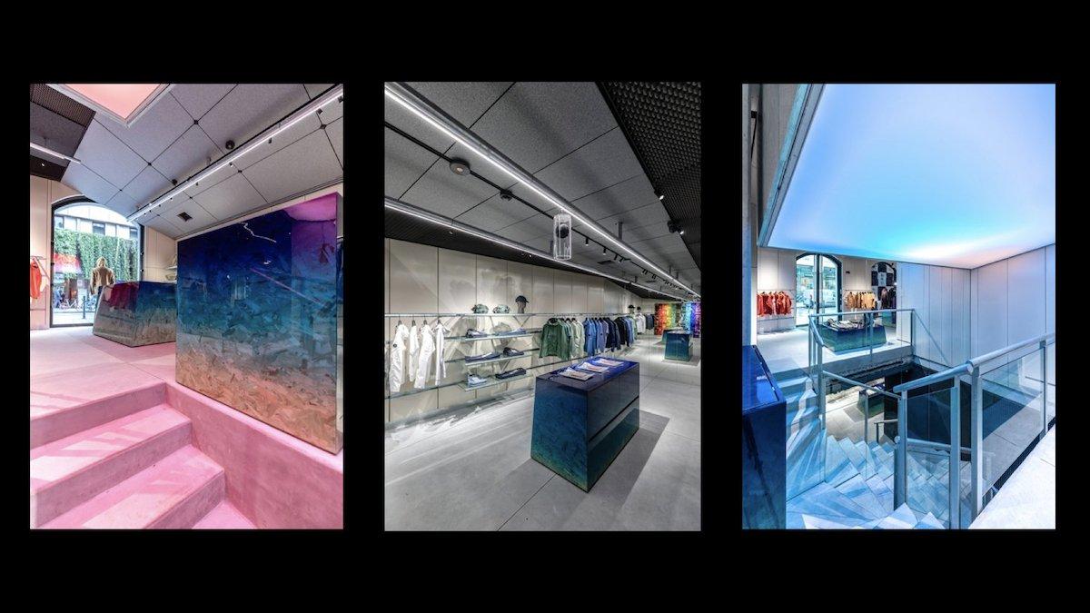 Insgesamt sollen 10 Stores in Europa entstehen (Fotos: C.P. Company)