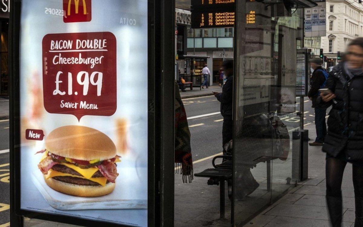 Mit einem neuen Tool lockt die Burger-Kette mehr Besucher in ihre Restaurants (Foto: Talon Outdoor)
