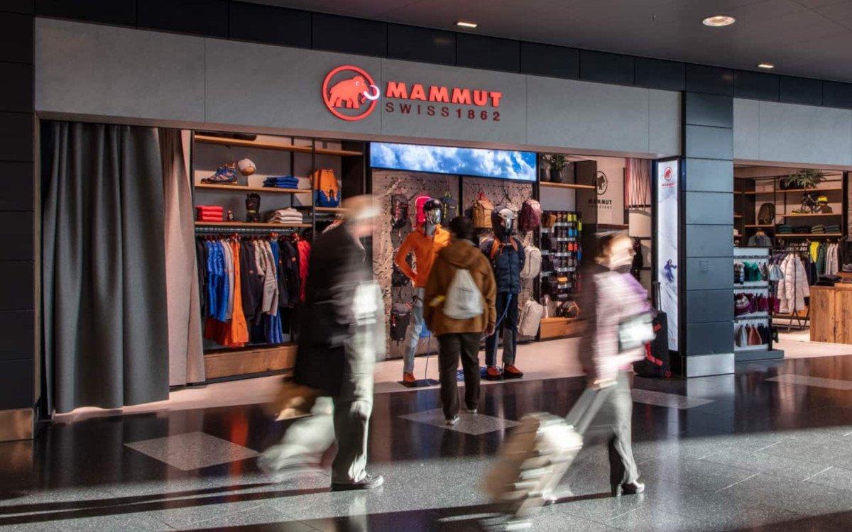 Mammut Store am Flughafen Zürich (Foto: Mammut/Richnerstutz)