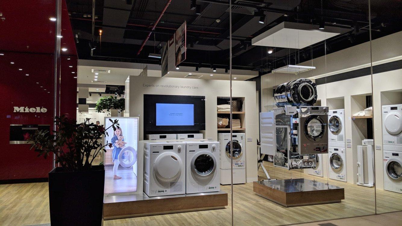 Miele Experience Center der vorherigen Generation in Dubai (Foto: invidis)