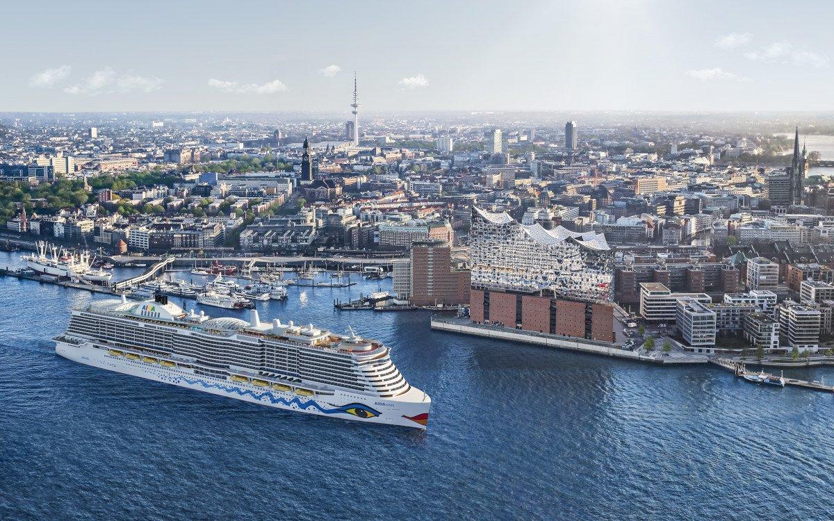 Der Neubau AidaNova läuft umweltfreundlich mit LNG (Foto: Aida)