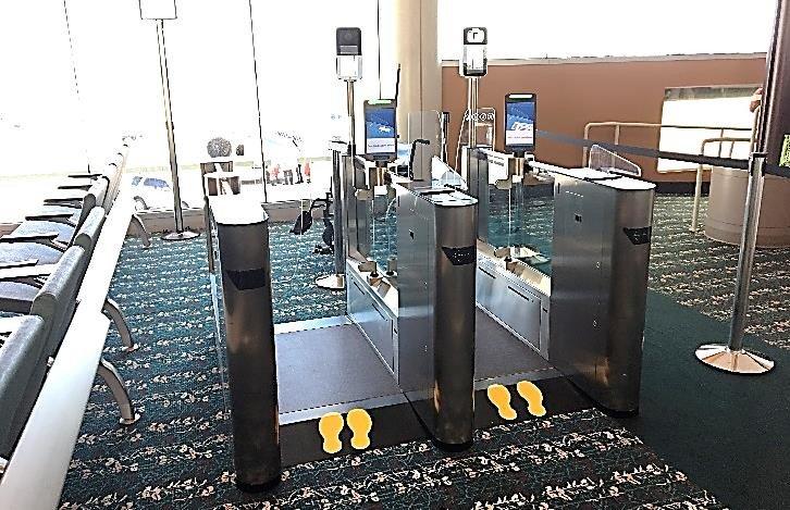Gesichtserkennung am Flughafen Orlando (Foto: iOrlando Airport)