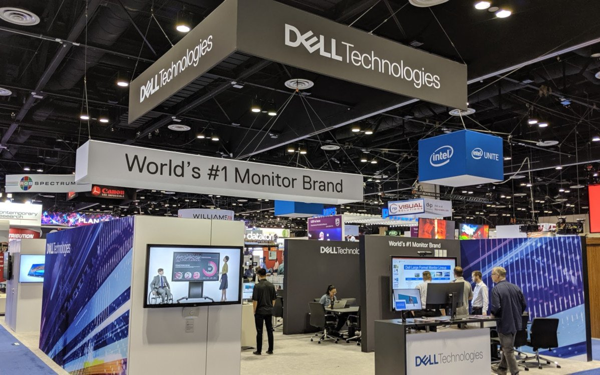 Dell präsentiert Digital Signage auf der Infocomm (Foto. invidis)