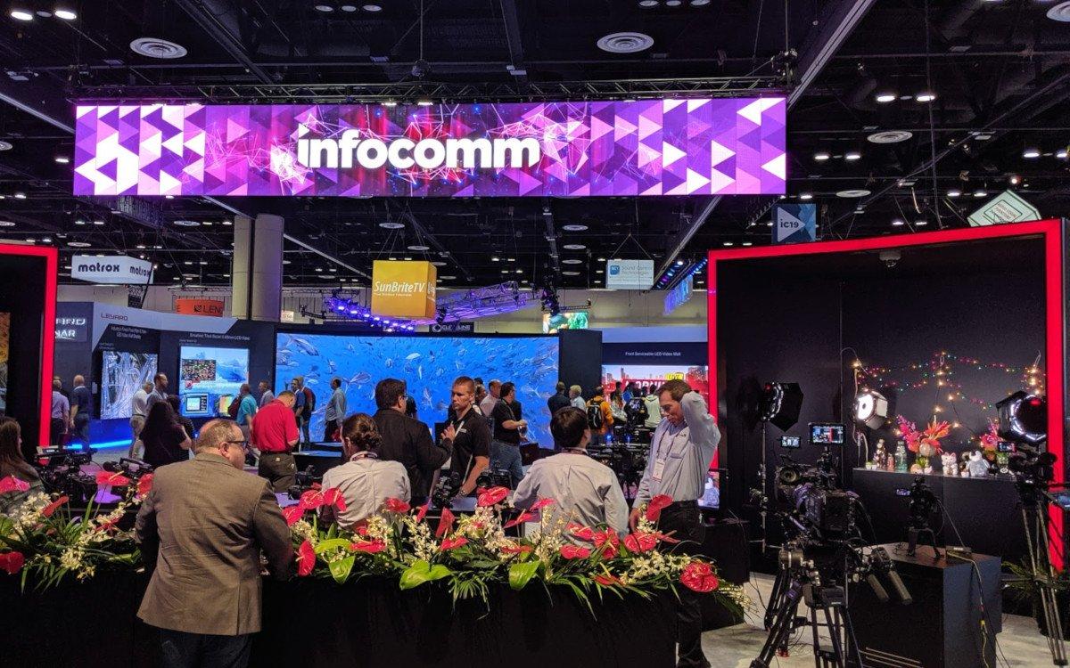Große Nachfrage nach Pro AV auch auf der Infocomm 2019 (Foto: invidis)