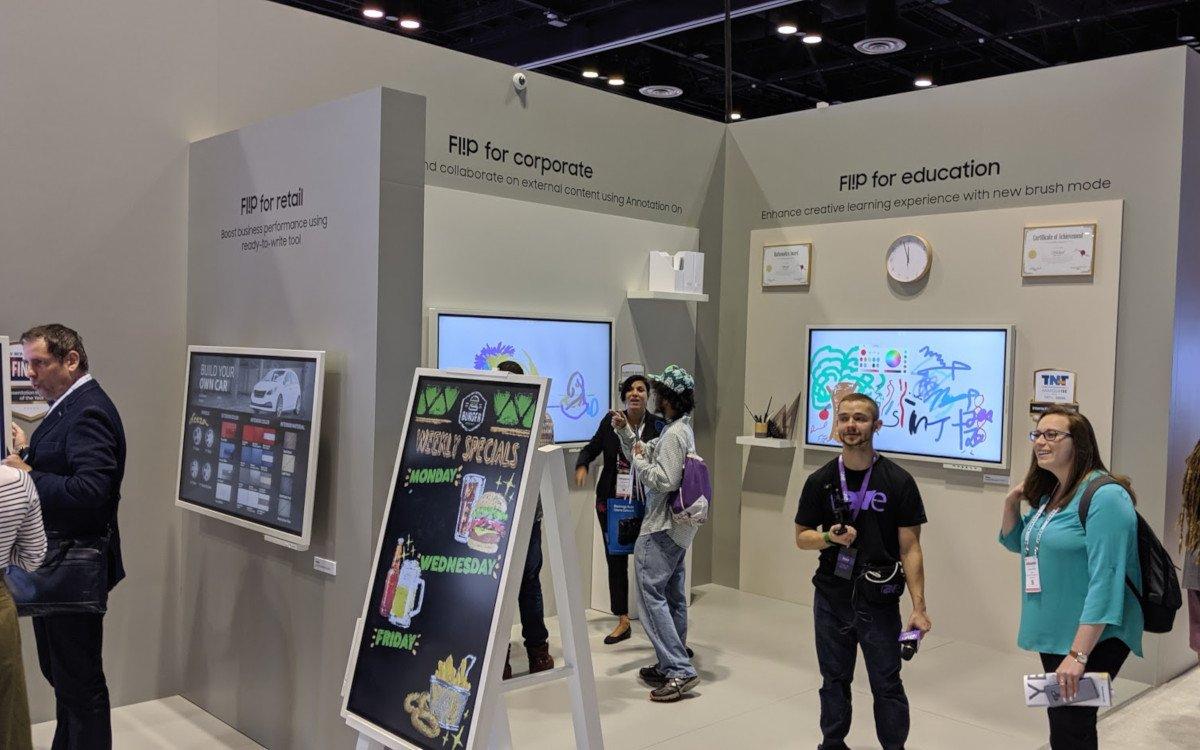 Flip 65 für Education, Corporate und Retail (Foto: invidis)