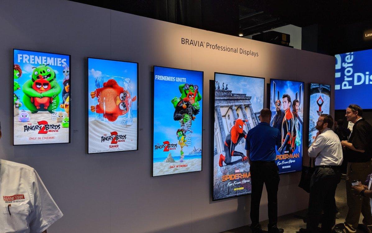 Bravia Professional soll Sony zurück in den Digital Signage markt bringen (Foto: inivids)