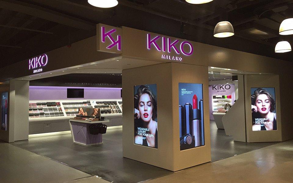 Displays, Poster oder beides - Kiko setzt standortabhängig auf digital, hinterleuchtet oder einen Mix (Foto: Kiko)