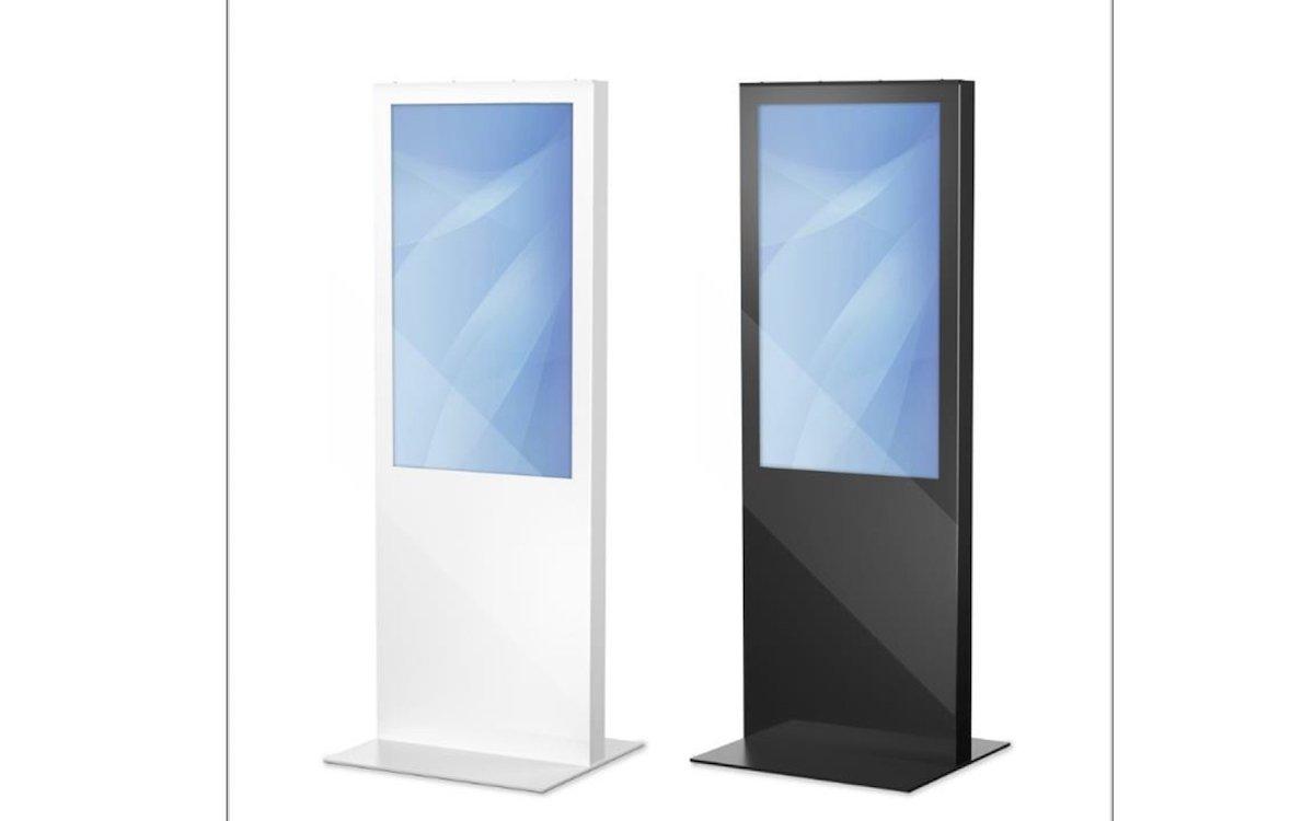 "Glasstele ""Lena"" in 2 Farbvarianten (Foto: Werkstation)"