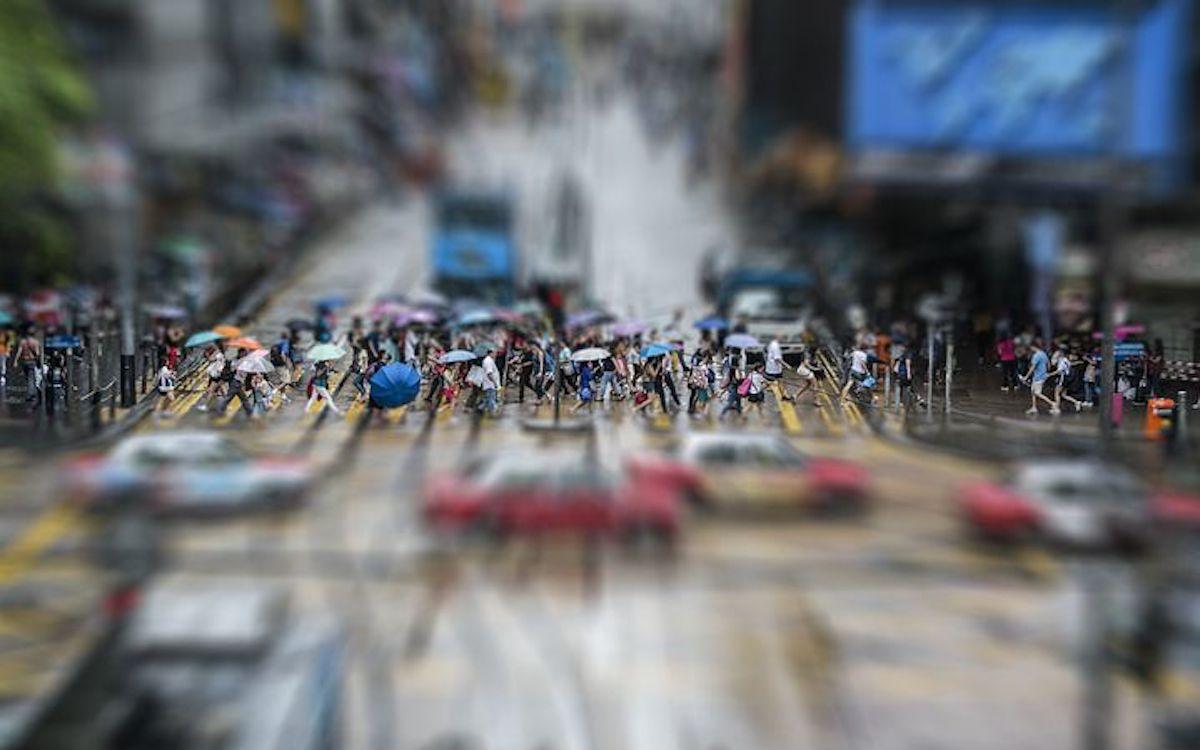 Menschenmenge in Hong Kong, Symbolbild (Foto: Pixabay / bluelightpictures)