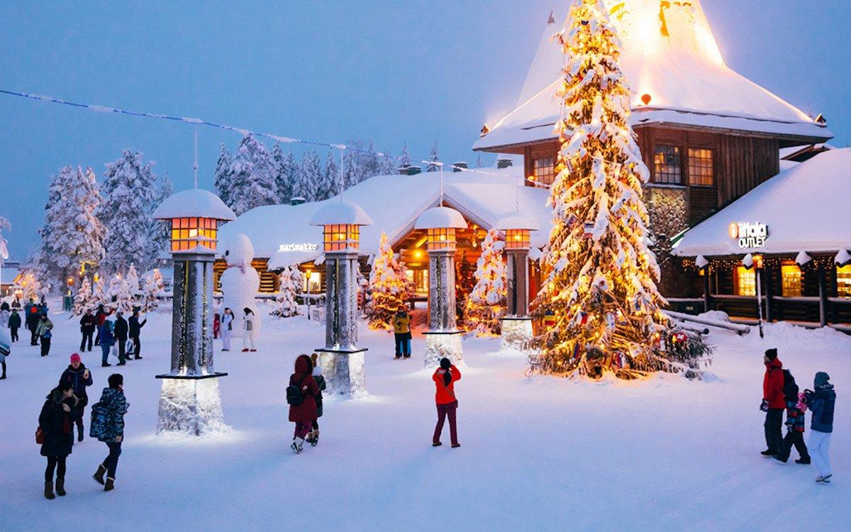 Rovaniemi ist die offizielle Heimatstadt des Weihnachtsmannes (Foto: Infinitus)