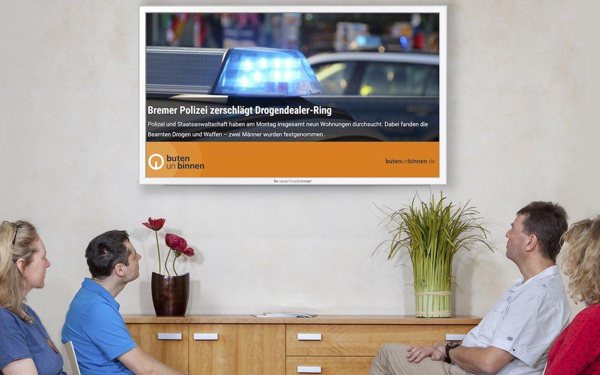 TV-Wartezimmer kooperiert nun auch mit Radio Bremen (Foto: TV-Wartezimmer)