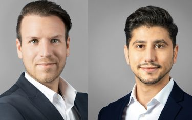 Von links: Christian Kotulla und Abdullah Celep (Fotos: ViewSonic)