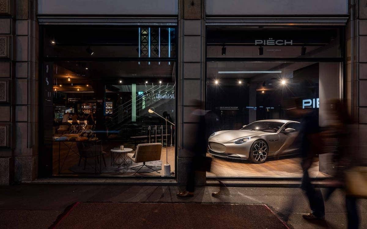 Zentral in Little Big City Zürich liegt der Showroom der jungen Sportwagenmarke (Foto: Richnerstutz)