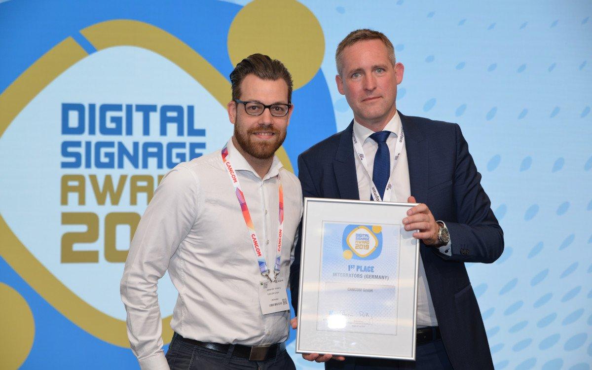 Alexander Vollberg / Cancom – Top 3 Deutschland Digital Signage Integrator (Foto: invidis)