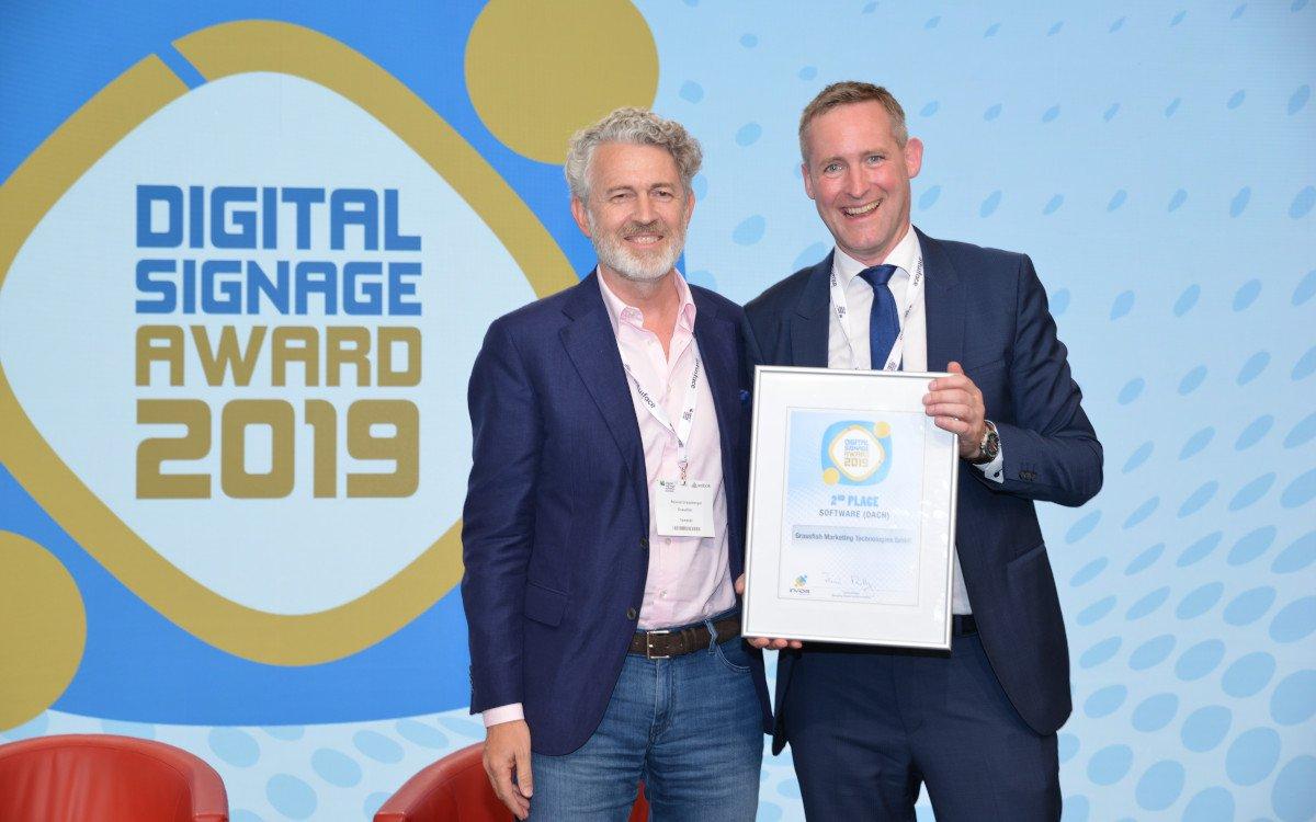 Roland Grassberger / Grassfish – Top 3 DACH Digital Signage Software (Foto: invidis)