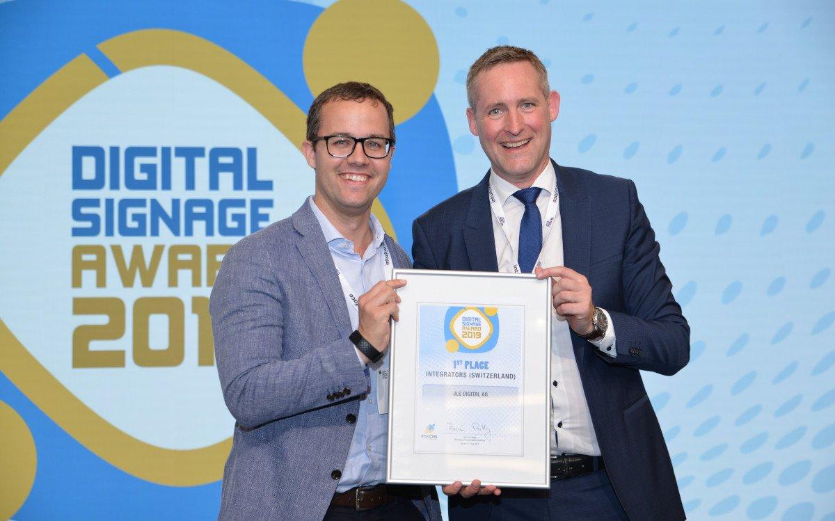 Patrick Minder / JLS Digital – Top 3 Schweiz Digital Signage Integrator (Foto: invidis)