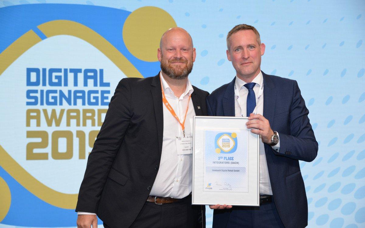 Markus Deserno / Umdasch Digital – Top 3 DACH Digital Signage Integrator (Foto: invidis)