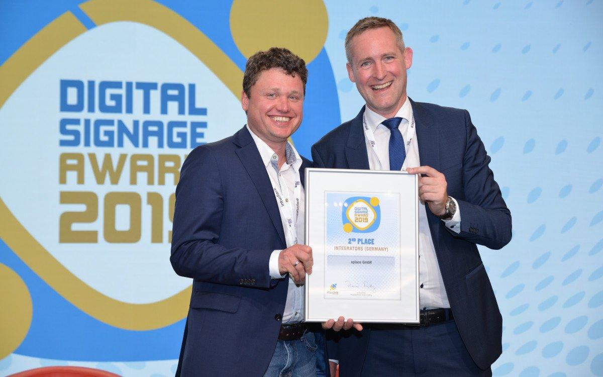 Marco Wassermann / xplace – Top 3 Deutschland Digital Signage Integrator (Foto: invidis)