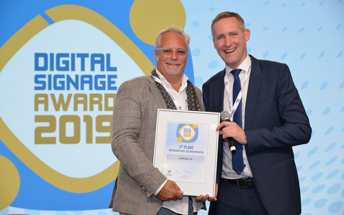 Leif Liljebrunn / Zeta Display - Europe Top 3 Digital Signage Integrator (Pure Player) (Foto: invidis)