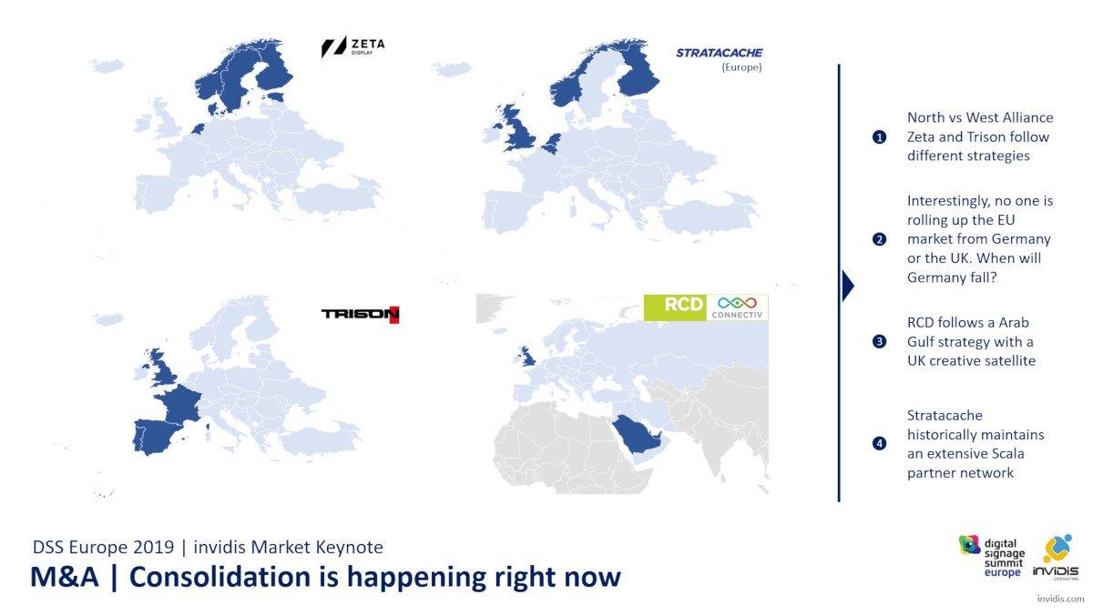 invidis Keynote - Konsolidierung im Digital Signage Markt (Foto: invidis)