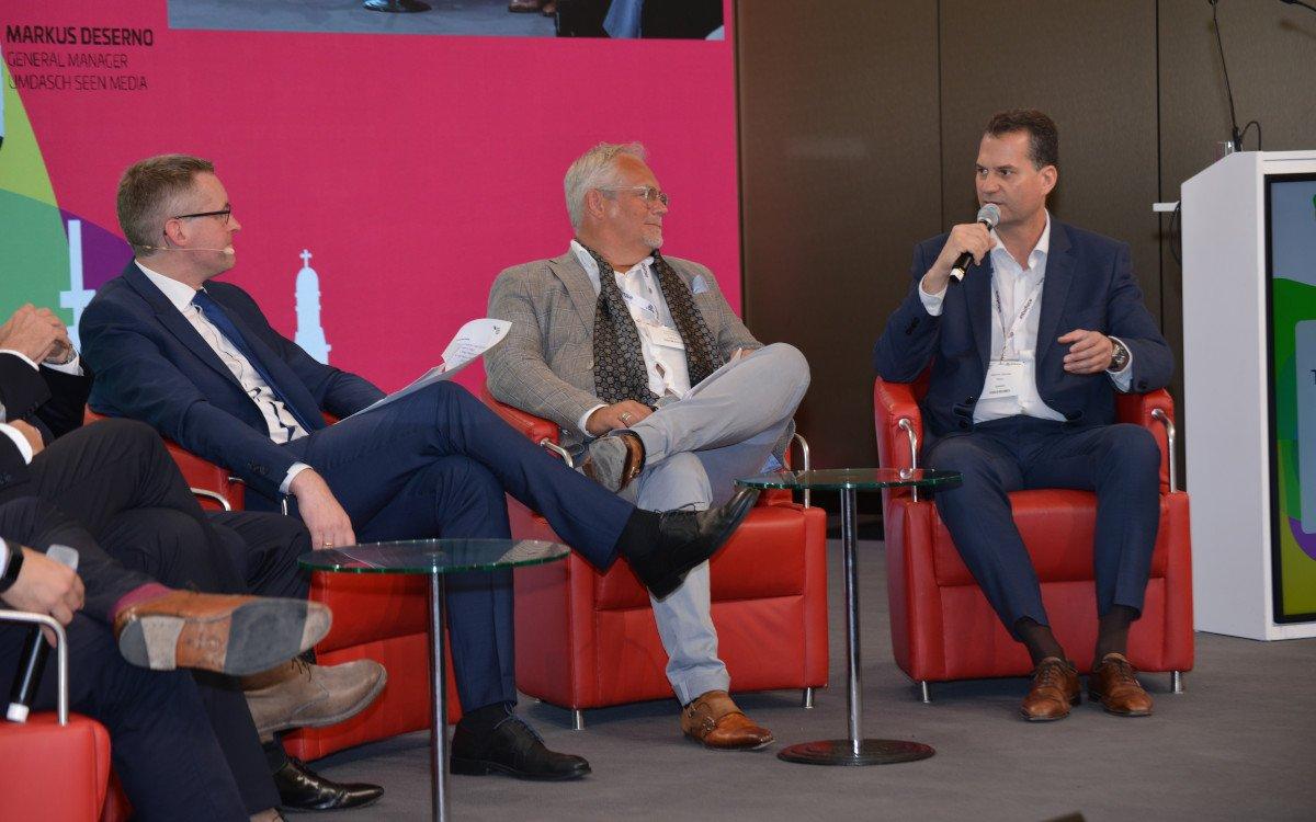 Leif & Alberto auf dem DSS Europe M&A Panel (Foto: invidis)