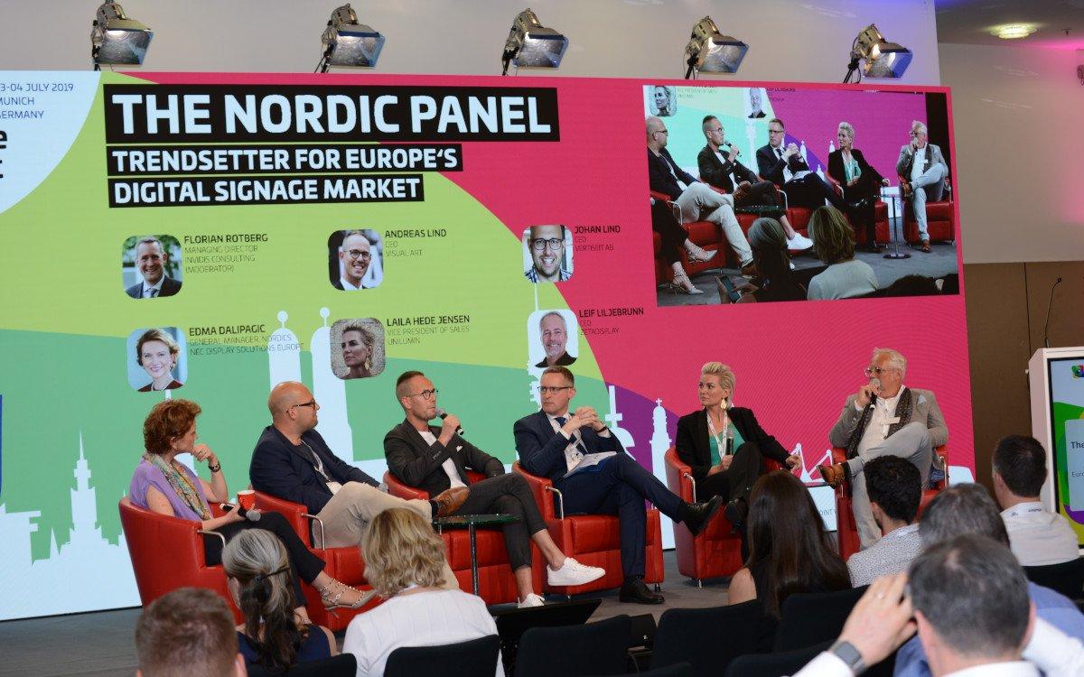 DSS Europe 2019 Nordic Panel (Foto: invidis)