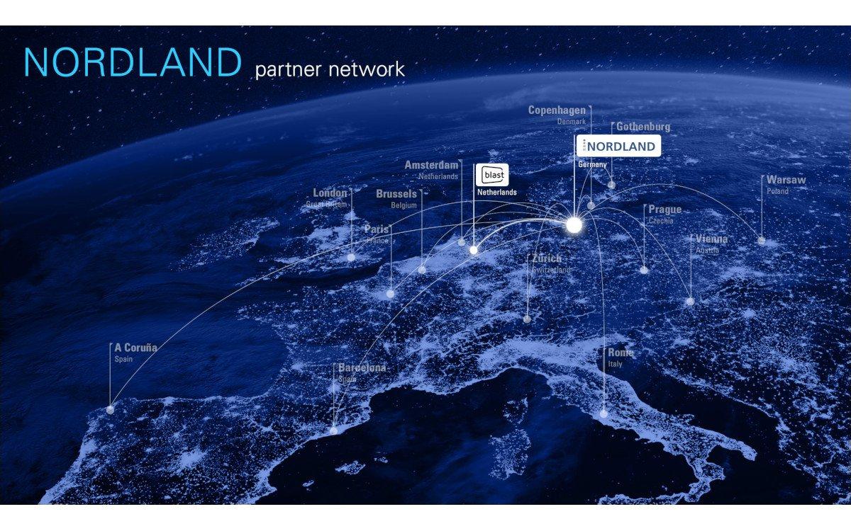 Europäisches Partnernetzwerk von Nordland Digital Signage (Foto: Nordland)