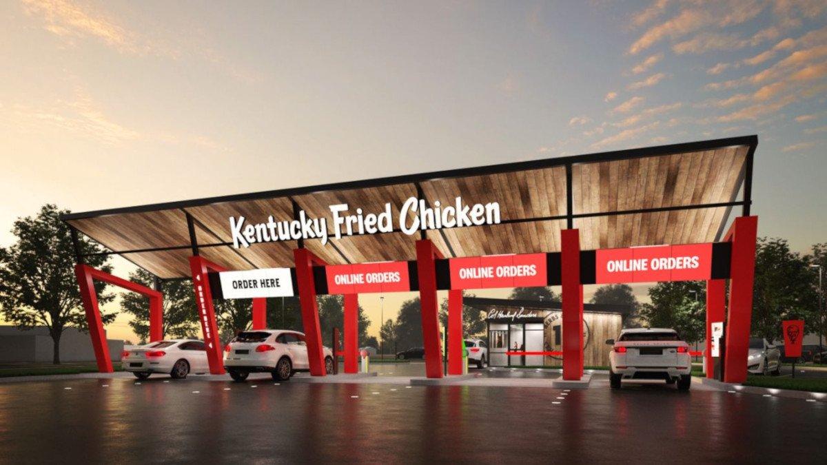 KFC Drive Thru Only (Foto: KFC Australia)