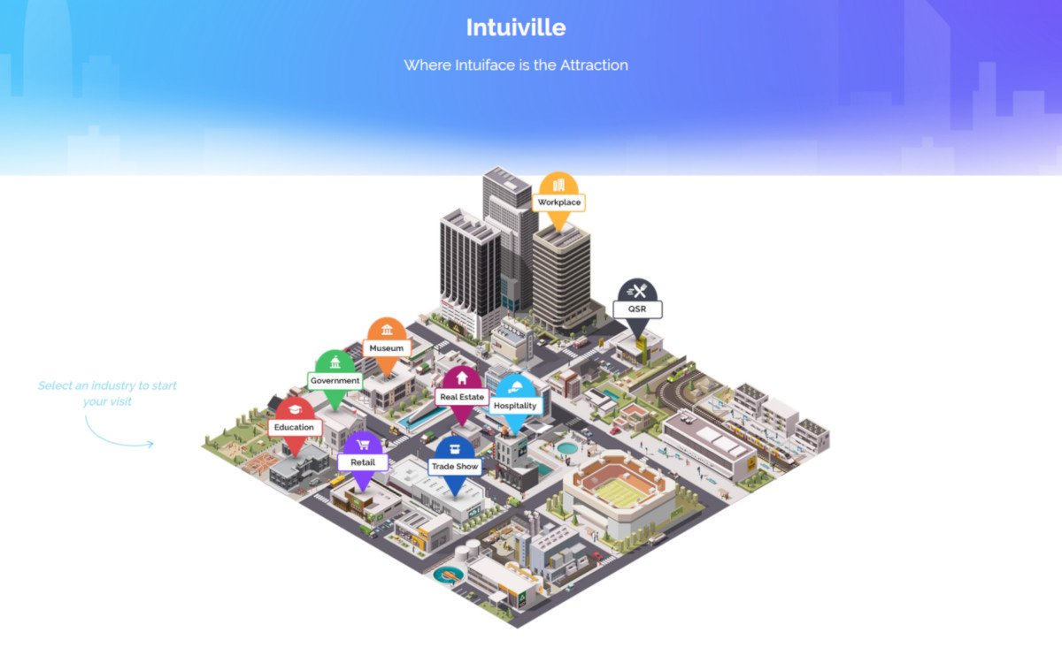 Intuiville Digital Signage (Foto: Screenshot)