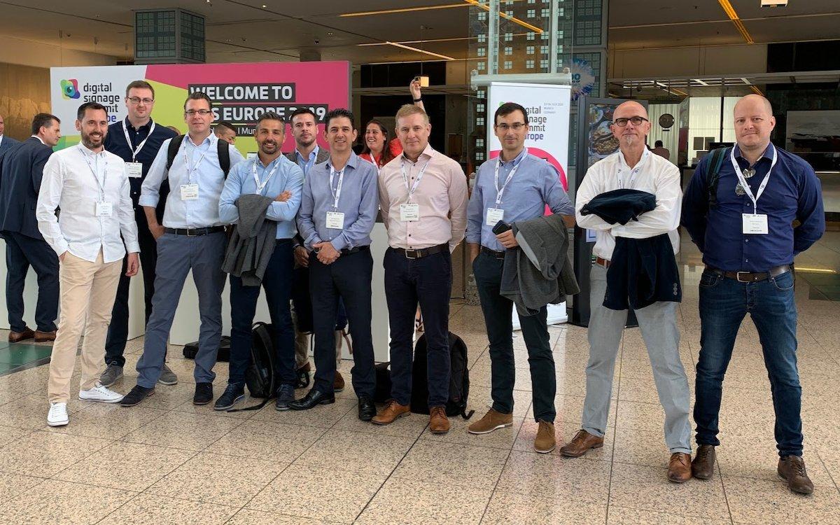 Das Team von Maverick traf sich zum Kick Off nach dem DSS Europe 2019 (Foto: Maverick)