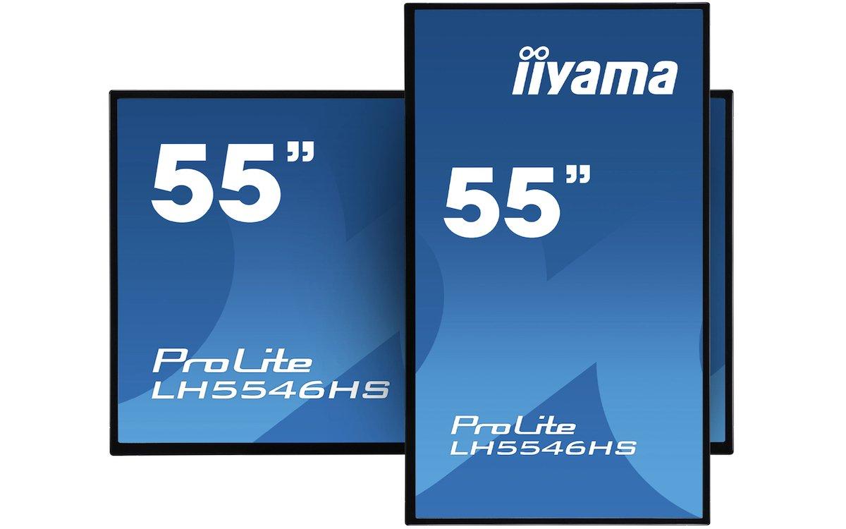 """Der PROLITE LH5546HS-B1 ist das 55"""" Modell aus der Serie 46 (Foto: iiyama)"""