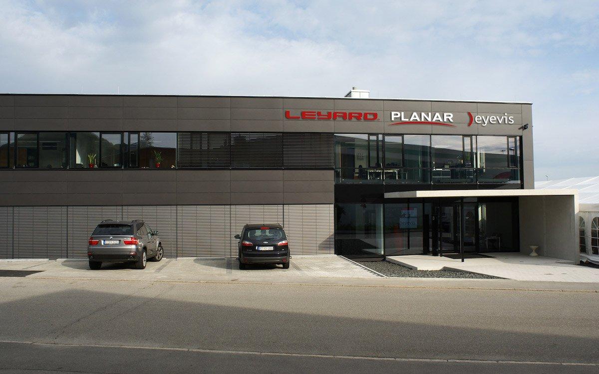 Die frühere eyevis-Zentrale ist Leyards neuer Standort für das EMEA HQ (Foto: Leyard)