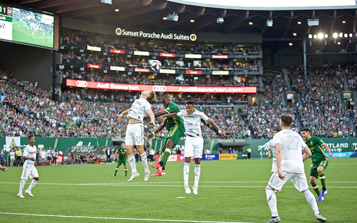 Die Timbers spielen im modernisierten Stadion (Foto: Leyard)