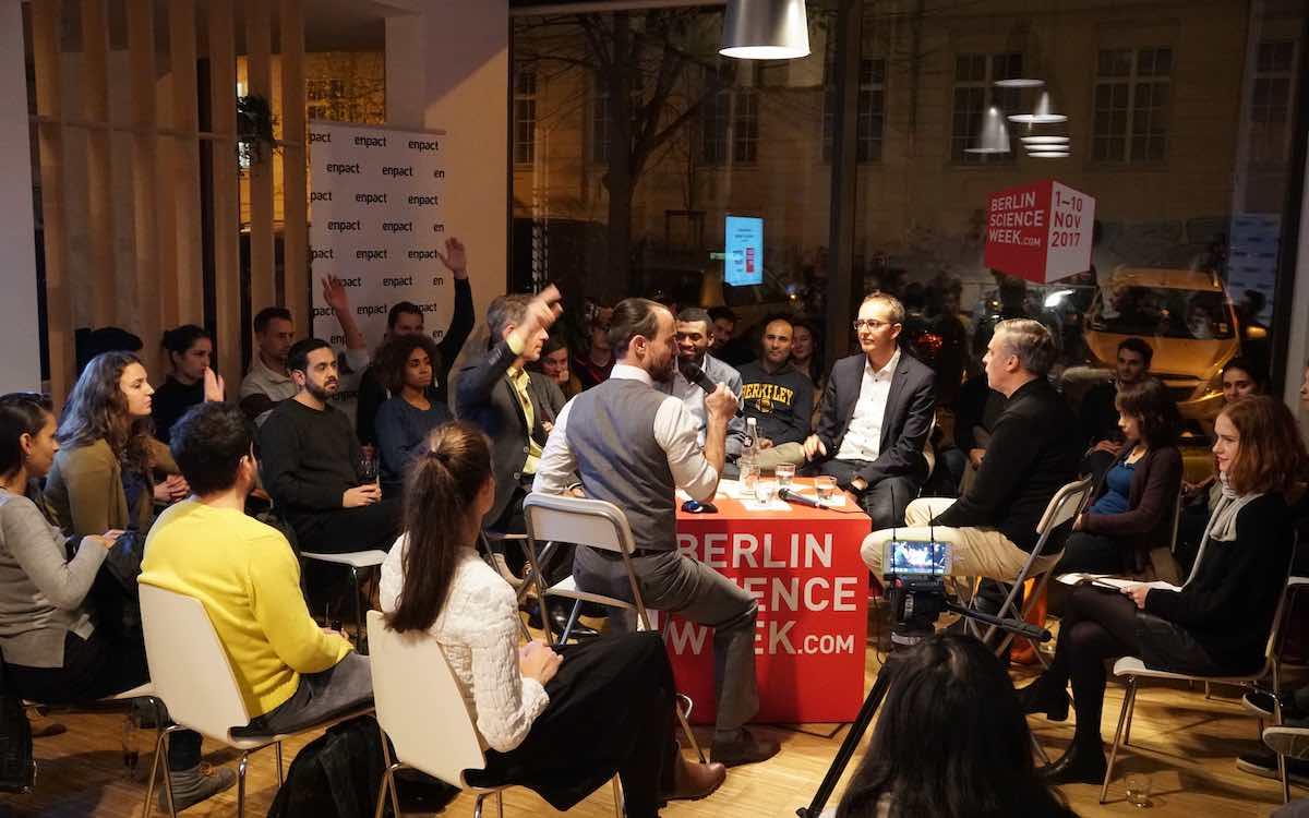 Diskussion auf der Berlin Science Week (Foto: Falling Walls Foundation)
