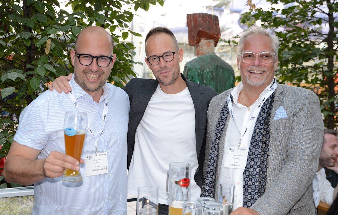 Drei starke Schweden: Johann Lind, Andreas Lind und Leif Liljebrunn (Foto: Frank Böhm / invidis)