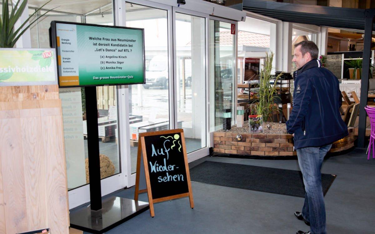 """Ein Standort des Netzwerks """"Digitales StadtTV"""" (Foto: itworx-pro GmbH)"""