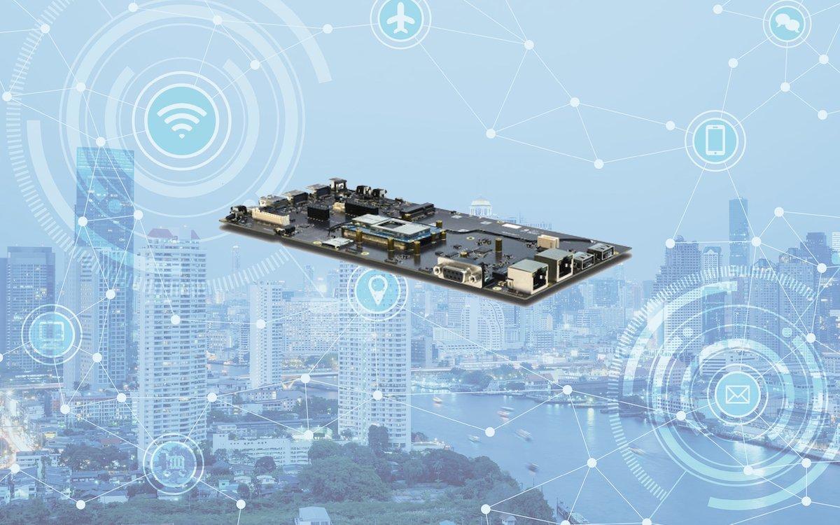 Neues Thundercomm TurboX D845 Development Kit (Grafik/ Foto: Atlantik Elektronik)
