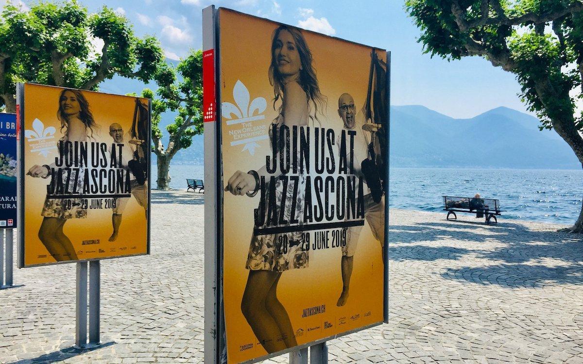 Werbeträger in Ascona (Foto: APG SGA)