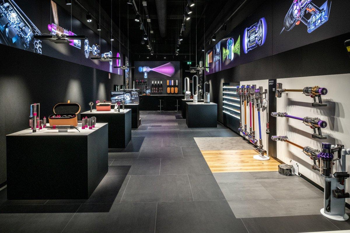 Dyson Demo Store in Cologne (Photo: Dyson)