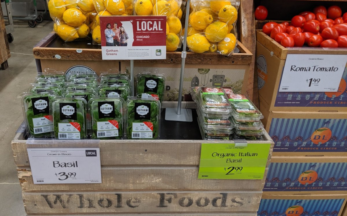 Storytelling am POS - hier Whole Foods in Chicago (Foto: invidis)