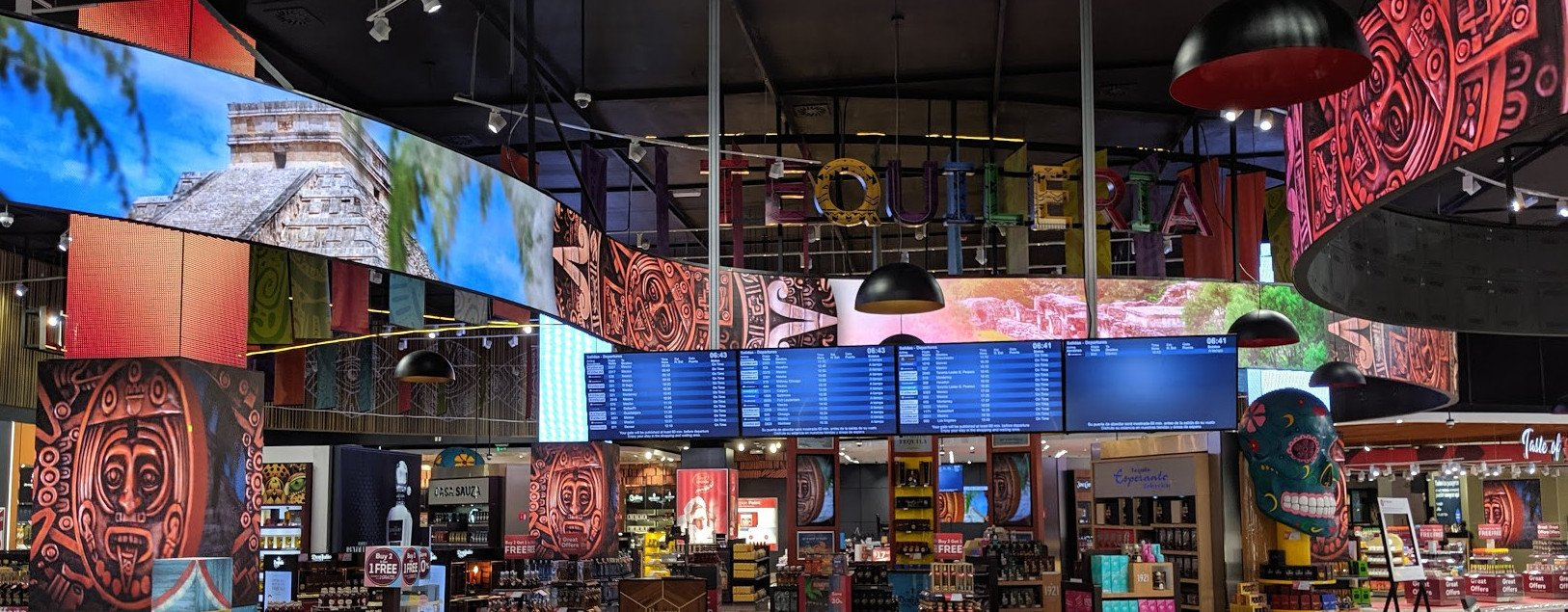 Dufry Digital Travel Retail at Cancun Airport (Photo: invidis)