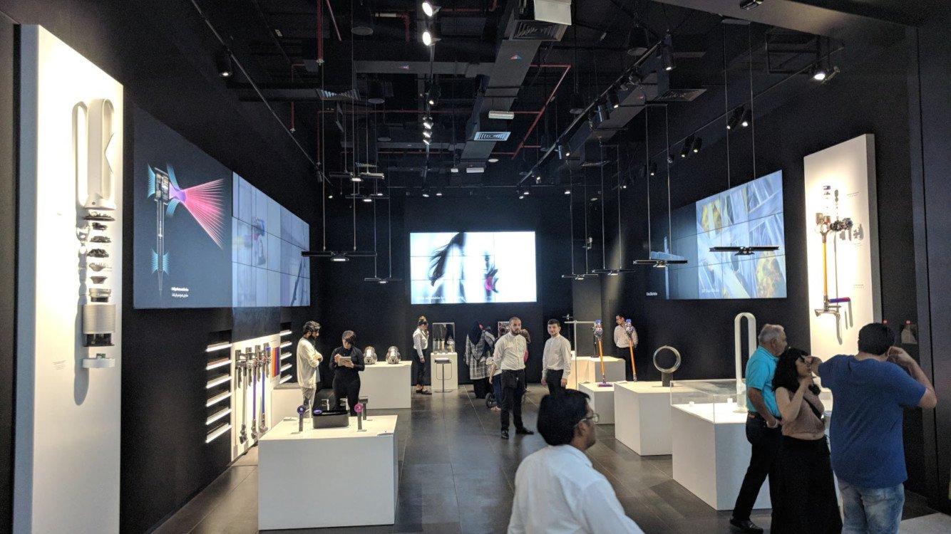 Dyson Demo Store in The Dubai Mall (Photo: invidis)
