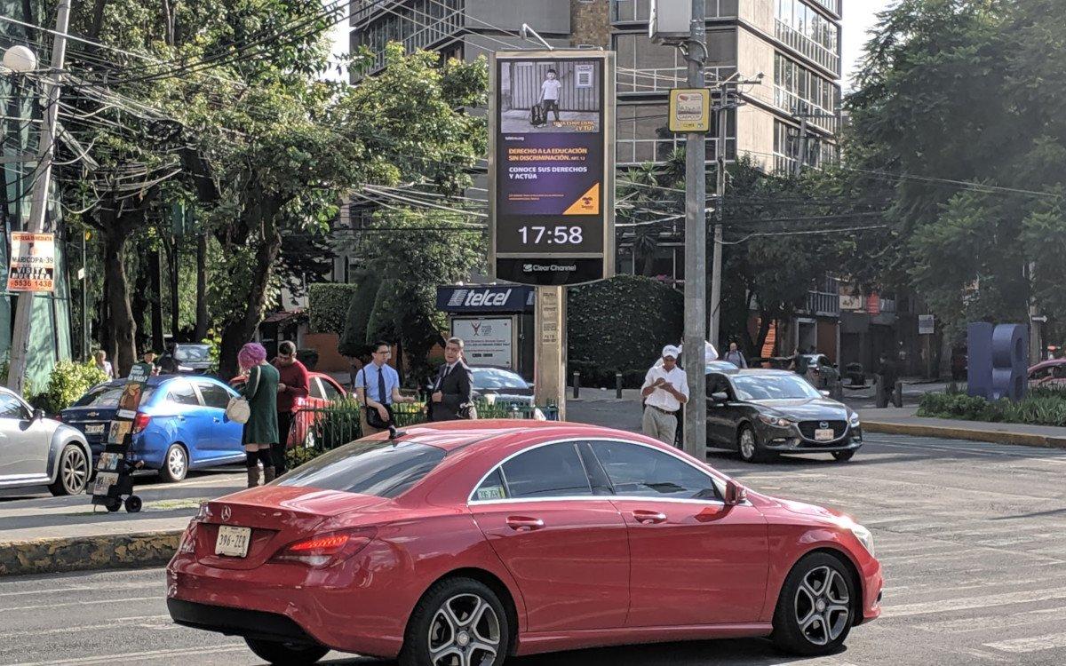 DooH mit Webcam Proof of Play in Mexico Stadt (Foto: invidis)