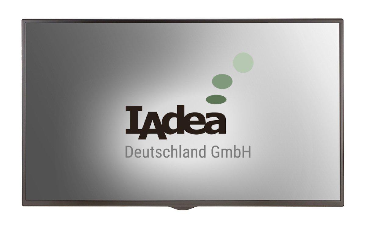 """Das 43"""" Signboard ist für den 24/7 Einsatz gedacht (Foto: IAdea Deutschland)"""