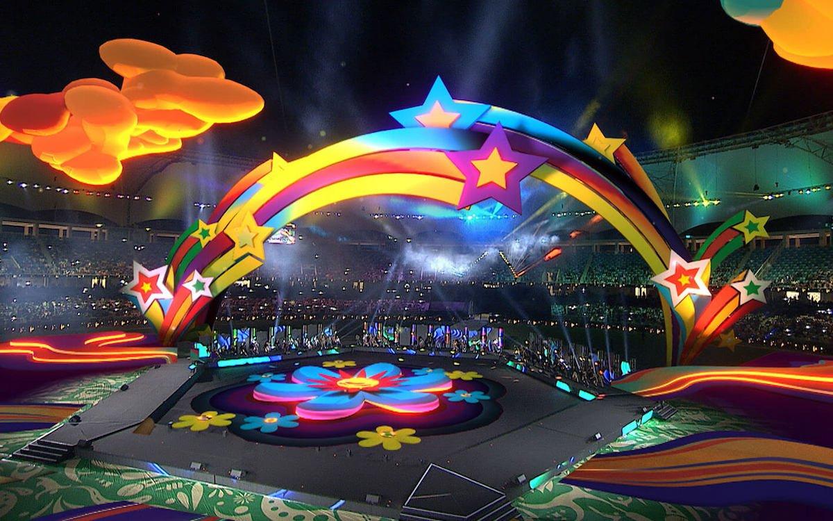 Das bislang spektakulärste Broadcast AR Event war die Show zum Spiel in Dubai (Foto: disguise)