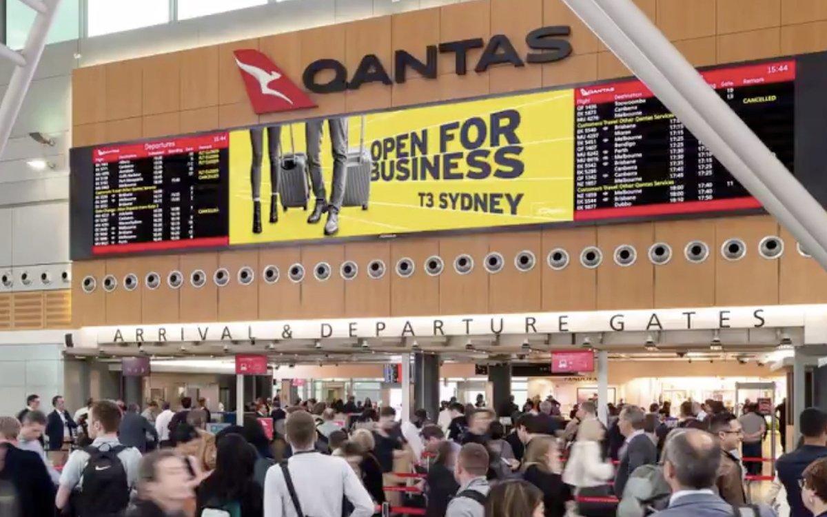 Erstmals vermarktet APN Outdoor alle Werbemedien an dem Flughafen (Screenshot: invidis)