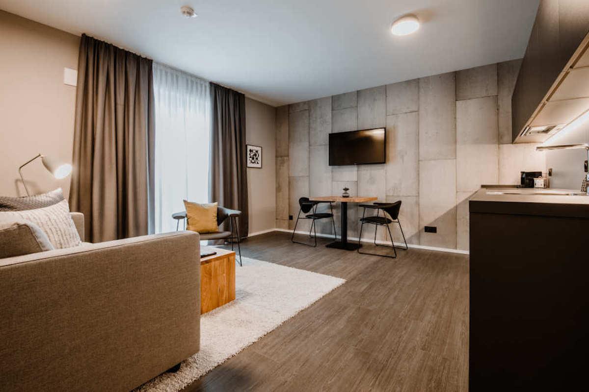 Eine der Suiten im Timehouse (Foto: a/c/t Beratungs & System GmbH)