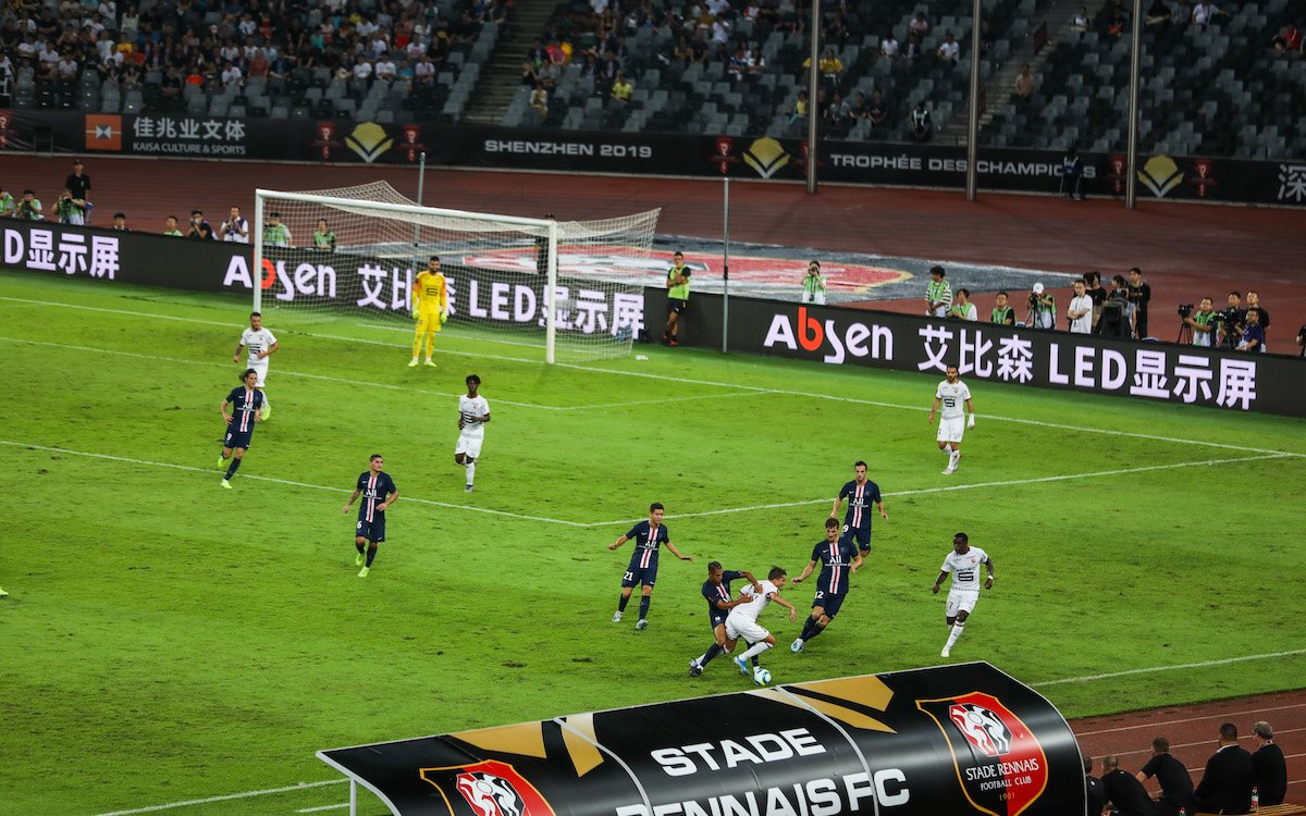 Paris setzte sich gegen den Stade Rennais Football Club durch (Foto: Absen)