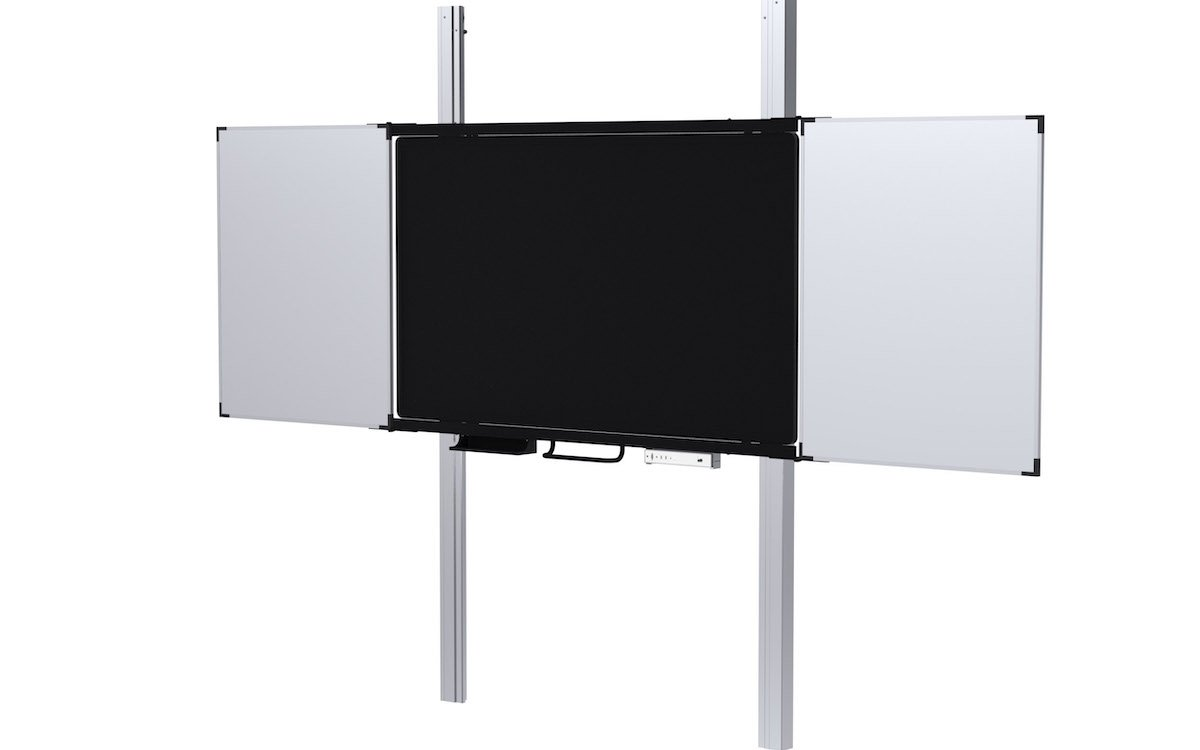 Interaktive Screens oder Projektoren können für das System ausgewählt werden (Foto: Kindermann)